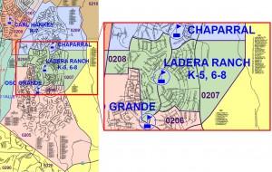 Attendance Boundaries for Ladera Ranch - Elementary Schools