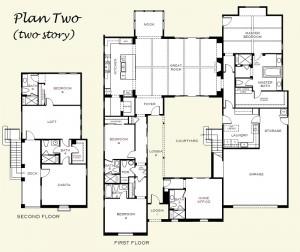 Plan Two Floorplan