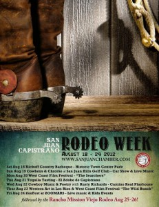"""San Juan Capistrano """"Rodeo Week"""" and the Rancho Mission Viejo Rodeo"""