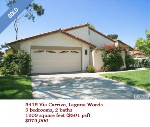 Laguna Woods Comparable (image courtesy of Redfin)
