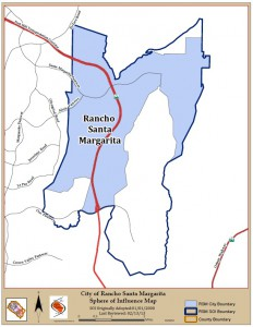 City of Rancho Santa Margarita's Sphere of Influence (source: OC LAFCO)