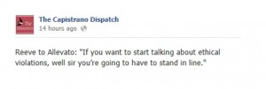 image credit: screen shot from Capistrano Dispatch Facebook