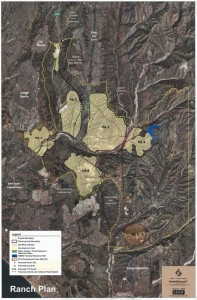 Ranch Plan Map