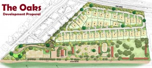 Proposed Site Plan for The Oaks (image source: Tentative Tract Map/City of San Juan Capistrano)