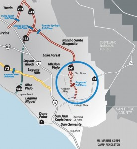 Proposed 241 Extension, image source: Foothill/Eastern Transportation Corridor Agency