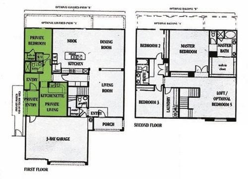 Multigenfloorplan rancho ortega blog for Multigenerational floor plans