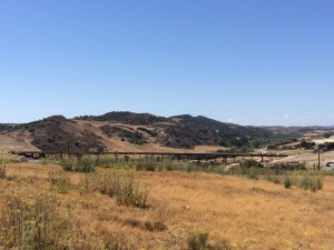 Cow Camp Road Bridge under construction (photo credit: Rancho Ortega Blog)