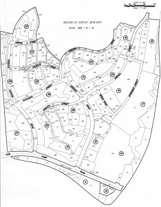 Planning Area 2.1 - Street Map (source: County of Orange)
